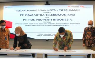 Kembangkan Layanan Teknologi Komunikasi Digital, Mitratel Gandeng Pos Properti Indonesia - JPNN.com