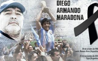 Untuk Menghormati Maradona, Jangan Ada Lagi Nomor Punggung 10 - JPNN.com