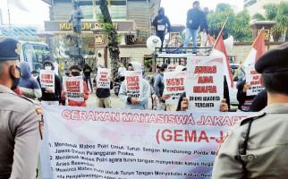 Gelar Aksi Demo di Depan Mabes Polri, Mahasiswa Sampaikan Tuntutan Ini - JPNN.com