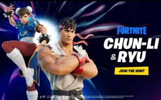 Ryu dan Chun-Li Ramaikan Karakter di Gim Fortnite - JPNN.com