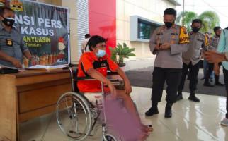 Perampok Sadis Ini Sering Tembak Mati Korban, Kini Terduduk di Kursi Roda, Kakinya Bolong - JPNN.com