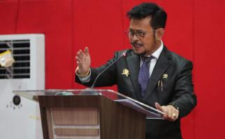 Mentan SYL Berbicara Soal Pangan di Acara Puncak Dies Natalis FH Unhas - JPNN.com