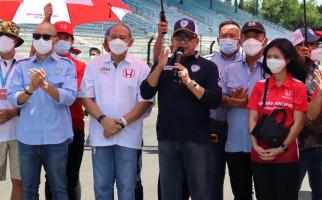 Bamsoet Buka Putaran Pertama Balap Mobil ISSOM 2021 di Sirkuit Sentul - JPNN.com