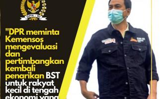 Azis Syamsuddin Meminta Kemensos Pertimbangkan Kembali Penarikan BST - JPNN.com