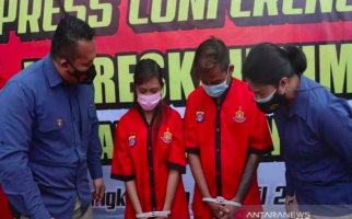 Dua Sejoli Penjual Anak di Bawah Umur Ini Diringkus Polisi, Nih Penampakannya - JPNN.com