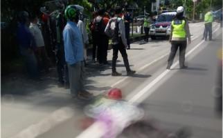 Innalillahi, Pejalan Kaki Tewas Tertabrak Mobil di Kemayoran, Pelaku Langsung Kabur - JPNN.com