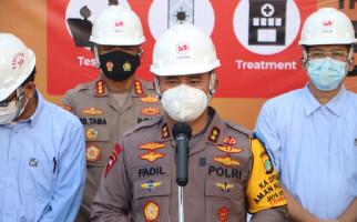 Irjen Fadil Sebut KTJ di Jakut Terapkan Prokes dengan Baik, Nih Buktinya - JPNN.com