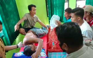 Sadis, Dua Pemuda Ini Tombak Tubuh David Samiun Berkali-kali, Banjir Darah - JPNN.com