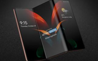 Samsung Galaxy Z Fold 3 Akan Usung Kamera Depan di Bawah Layar - JPNN.com