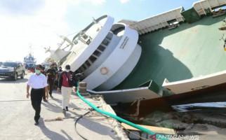 Kapal Feri Karam di Pelabuhan Seba, Menko PMK Beri Instruksi Tegas - JPNN.com