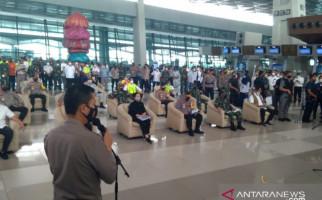 Doni Monardo, Puan, Jenderal Listyo, Panglima Hadi Berkumpul di Bandara Soetta - JPNN.com