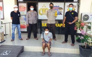 RU Garang Ancam Bunuh Sang Ibu Pakai Pisau, Begitu Dijemput Polisi Langsung Ciut Begini, Lihat - JPNN.com