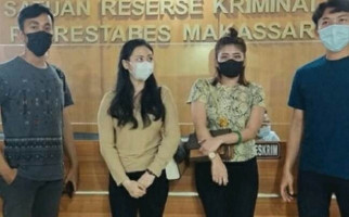 2 Selebgram Cantik Penganiaya Cewek di Kamar Indekos Ini Akhirnya Ditangkap, Tuh Lihat - JPNN.com