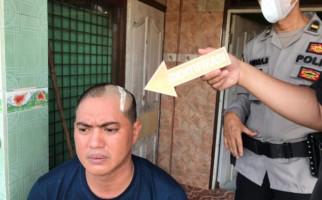 Kepala Triza Gita Dibacok Iyek Cs, Lihat Jadi Kayak Begini - JPNN.com