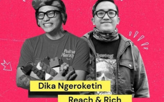 Dochi dan Dika Membahas Rocket Rockers Hingga Reach & Rich - JPNN.com