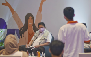 Menko Airlangga Minta BNI Berikan KUR untuk Alumni Prakerja Penyandang Disabilitas - JPNN.com