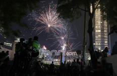 Minat Warga Jakarta Tahun Baruan di Bundaran HI Menurun - JPNN.com