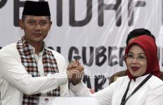 Kasihan, Mpok Sylvi Jadi Juru Kunci di TPS Sendiri - JPNN.com