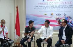 Ikut WSS 300 CC, Ali Adrian Pamit ke Menpora - JPNN.com