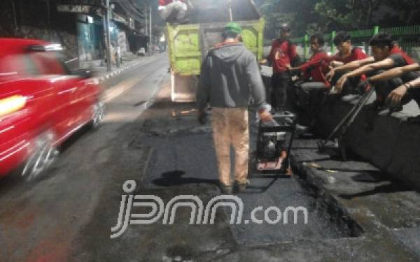 DKI Anggarkan Rp 400 Miliar untuk Perbaikan Jalan - JPNN.com