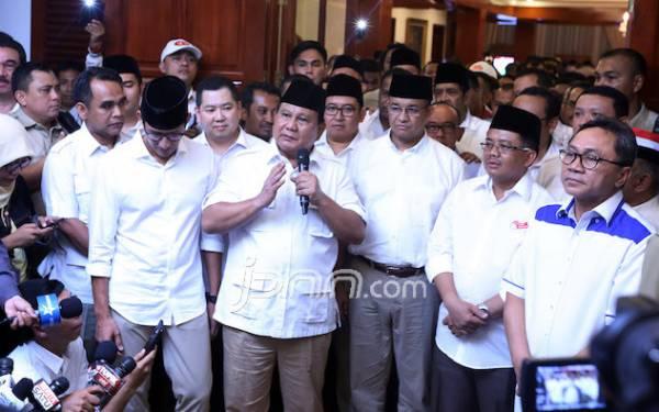 Pak Prabowo Sangat Percaya Quick Count ketika Anies-Sandi Menang Pilkada DKI - JPNN.com
