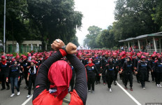 Ini 8 Titik Keberangkatan Buruh dari Bekasi - JPNN.com