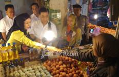 Setnov Blusukan di Pasar demi Perkenalkan Cagub Golkar - JPNN.com