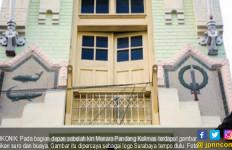 Bangunan Tua Menara Pandang Kalimas dengan Ikon Suro dan Boyo - JPNN.com