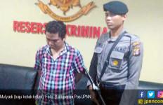 Pria Berbaju Kotak-Kotak Ditangkap Polisi - JPNN.com