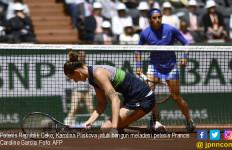 Petenis Cantik Punya Tato Unik Ini Lolos ke Semifinal Roland Garros - JPNN.com