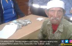 Pengemis Uzur Asal Padang Ini Bawa Duit Jutaan - JPNN.com