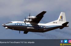 Pesawat Militer Myanmar Jatuh, Serpihan Ditemukan, 120 Orang Belum Jelas Nasibnya - JPNN.com