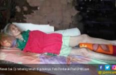 Miris, Nenek 81 Tahun Sebatang Kara Jatuh Sakit di Gubuk - JPNN.com