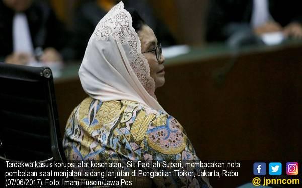 Terbukti Korupsi Alkes, Bu Siti Fadilah Kena 4 Tahun Penjara - JPNN.com