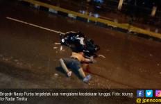 Polisi Mabuk, Bawa Motor Tak Pakai Helm, Gubraak! - JPNN.com