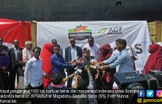Seribu Ton Beras dari Indonesia untuk Afrika Tiba di Somalia - JPNN.com