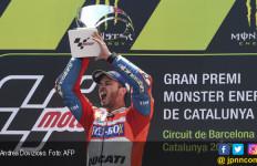 Klasemen MotoGP: Dovizioso Bayangi Vinales, Rossi Turun Dua Peringkat - JPNN.com