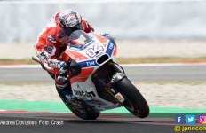 MotoGP Inggris: Fantastis Buat Dovizioso, Tragis Untuk Rossi - JPNN.com