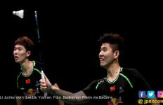 Taklukkan Ganda Nomor 1 Dunia, Li/Liu Akhiri 5 Tahun Puasa Tiongkok di Indonesia Open - JPNN.com