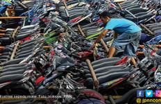Sebanyak 155 Sepeda Motor Disita Polisi - JPNN.com