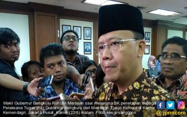 Plt Gubernur Bengkulu Jamin Seluruh SKPD Kooperatif dengan KPK - JPNN.com
