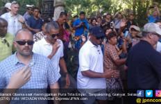 Obama ke Pura Tirta Empul Bikin Heboh, SBY Sering, Jokowi Belum Pernah - JPNN.com