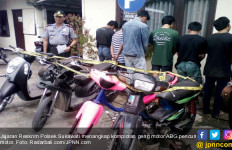 Lihat Nih, Komplotan Geng Motor ABG Ditangkap - JPNN.com