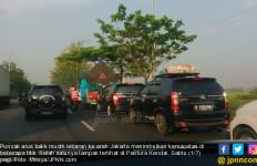 H+3 Lebaran, 234 Ribu Kendaraan Menuju Jakarta - JPNN.com