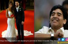 Begini Perasaan Maradona Tak Diundang ke Pernikahan Messi - JPNN.com