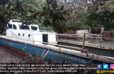 Lihat Nih, Kapal Patroli Laut Jadi Besi Tua - JPNN.com