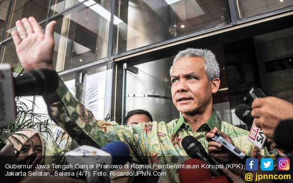 Johar Lin Eng Ditangkap, Ganjar Pranowo: Sudah, Sikat aja - JPNN.com