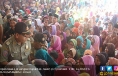 Open House Sri Sultan HB X, Salaman Biar Rezeki dan Jualan Lancar - JPNN.com