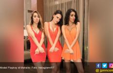 Tiga Model Hot Playboy Ini Tiba-Tiba Ditangkap - JPNN.com
