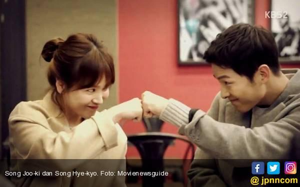 Bikin Baper, Ini Kronologi Perjalanan Cinta Song Joo-ki dan Song Hye-kyo - JPNN.com